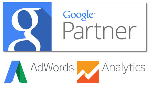 Certificado Google Partner AdWords e Analytics