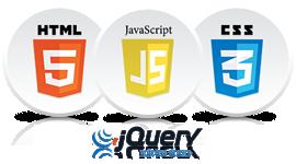 HTML5, CSS3, JavaScript e JQuery